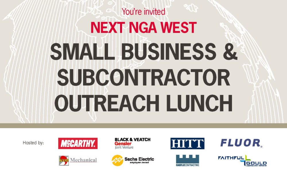 McCarthy Design/Build Team Hosts N2W Small Business & Subcontractor Outreach Lunch